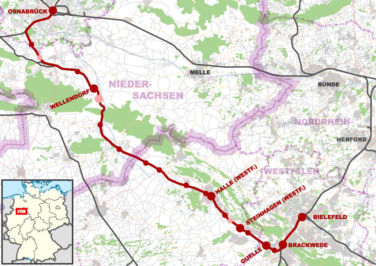 OsnabrckBrackwede railway Wikipedia