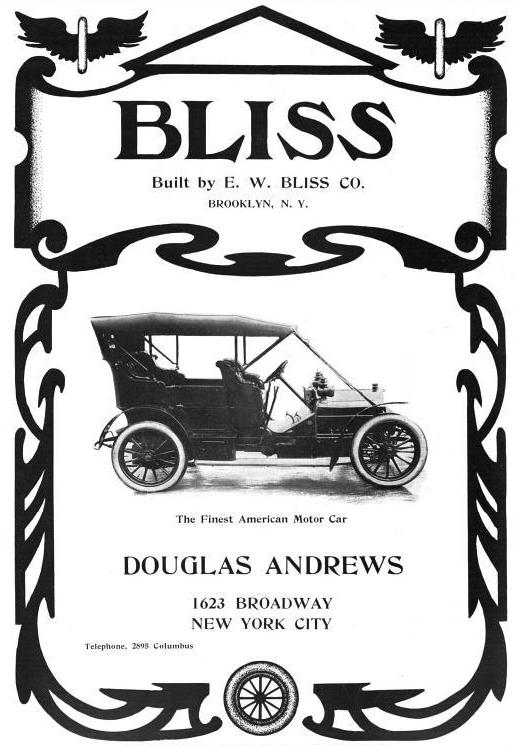 Bliss Automobile Wikipedia