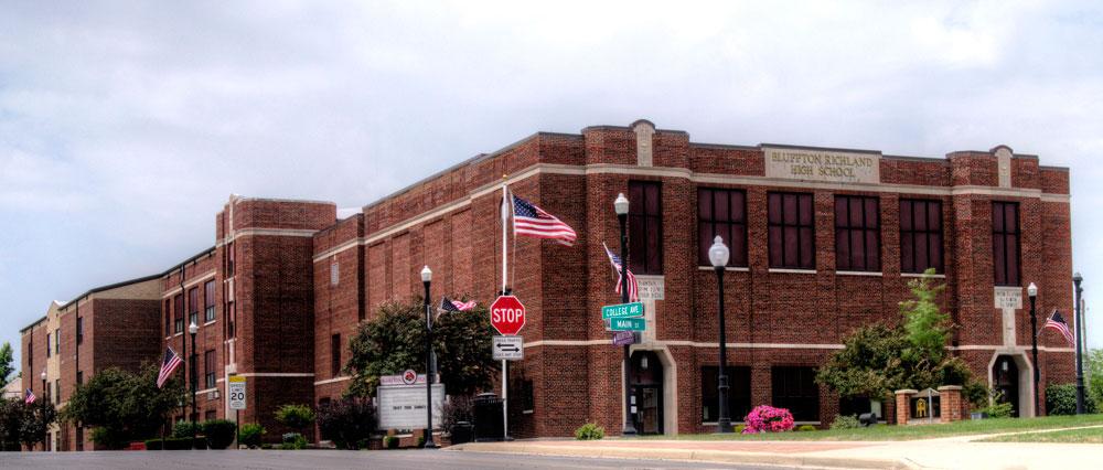 bluffton high school  ohio
