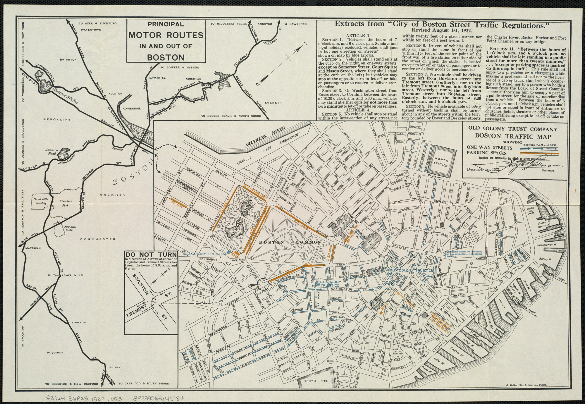 Boston Traffic Map File:Boston traffic map showing one way streets and parking spaces  Boston Traffic Map