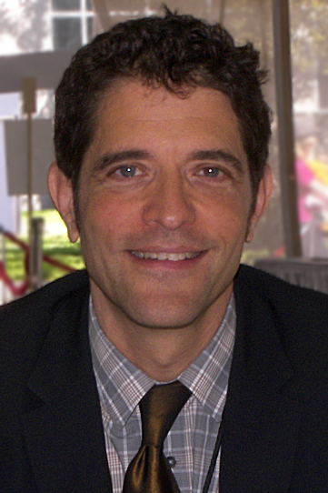 Brad Gooch at the 2009 Texas Book Festival.