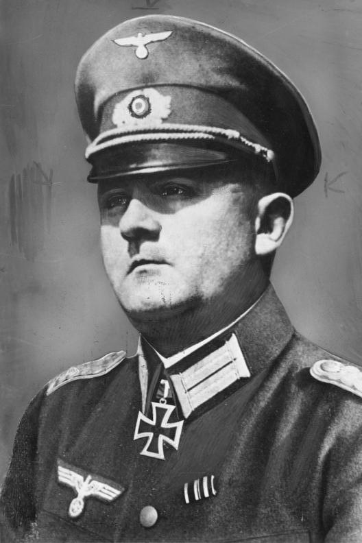 Resultado de imagen de Dietrich von Choltitz