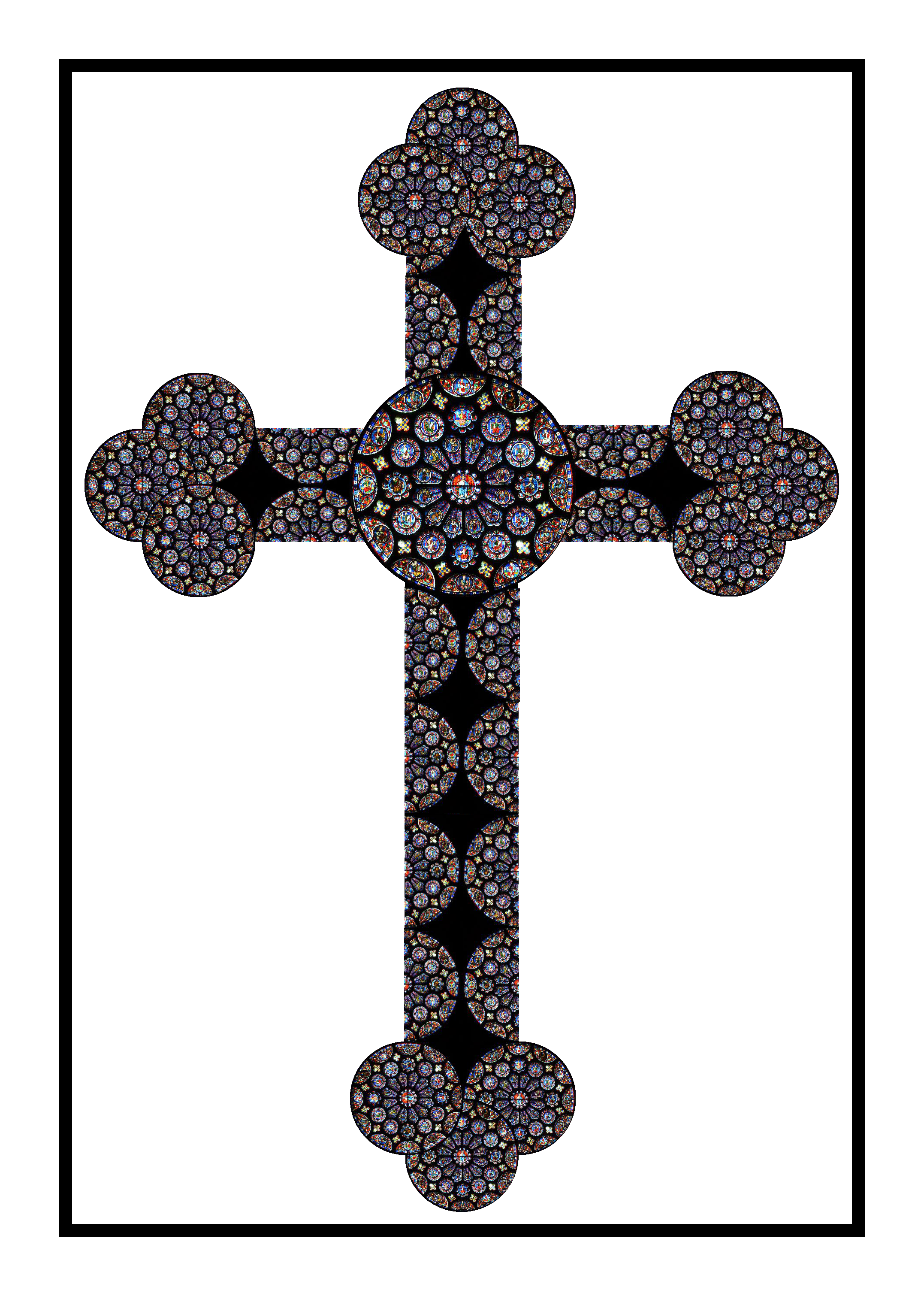 File:CHARTRES CROSS with black frame for WIKI SCIENCE entry.png ...