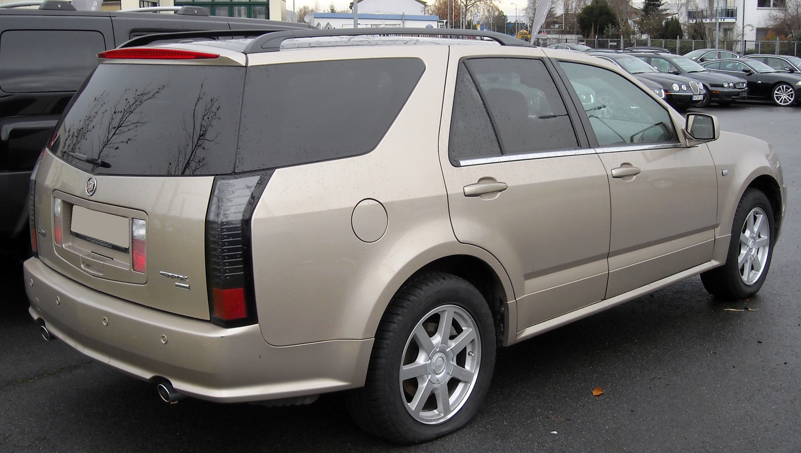 File:Cadillac SRX rear 20081204.jpg - Wikipedia