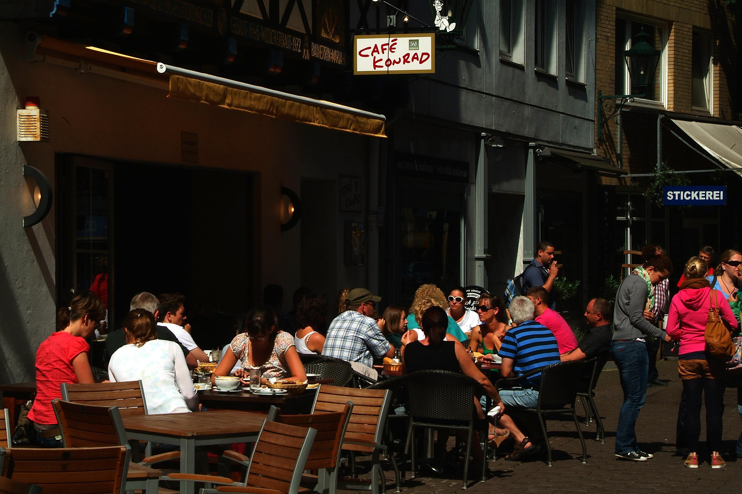 Hannover Altstadt Cafe Konrad
