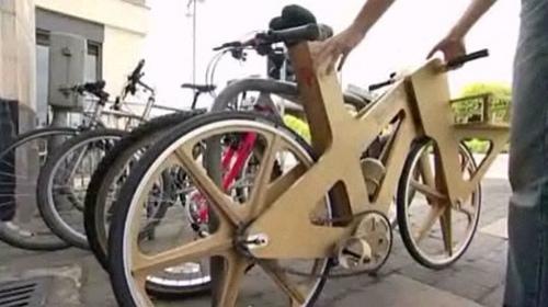 Wooden Balance Bike >> Cardboard bicycle - Wikipedia