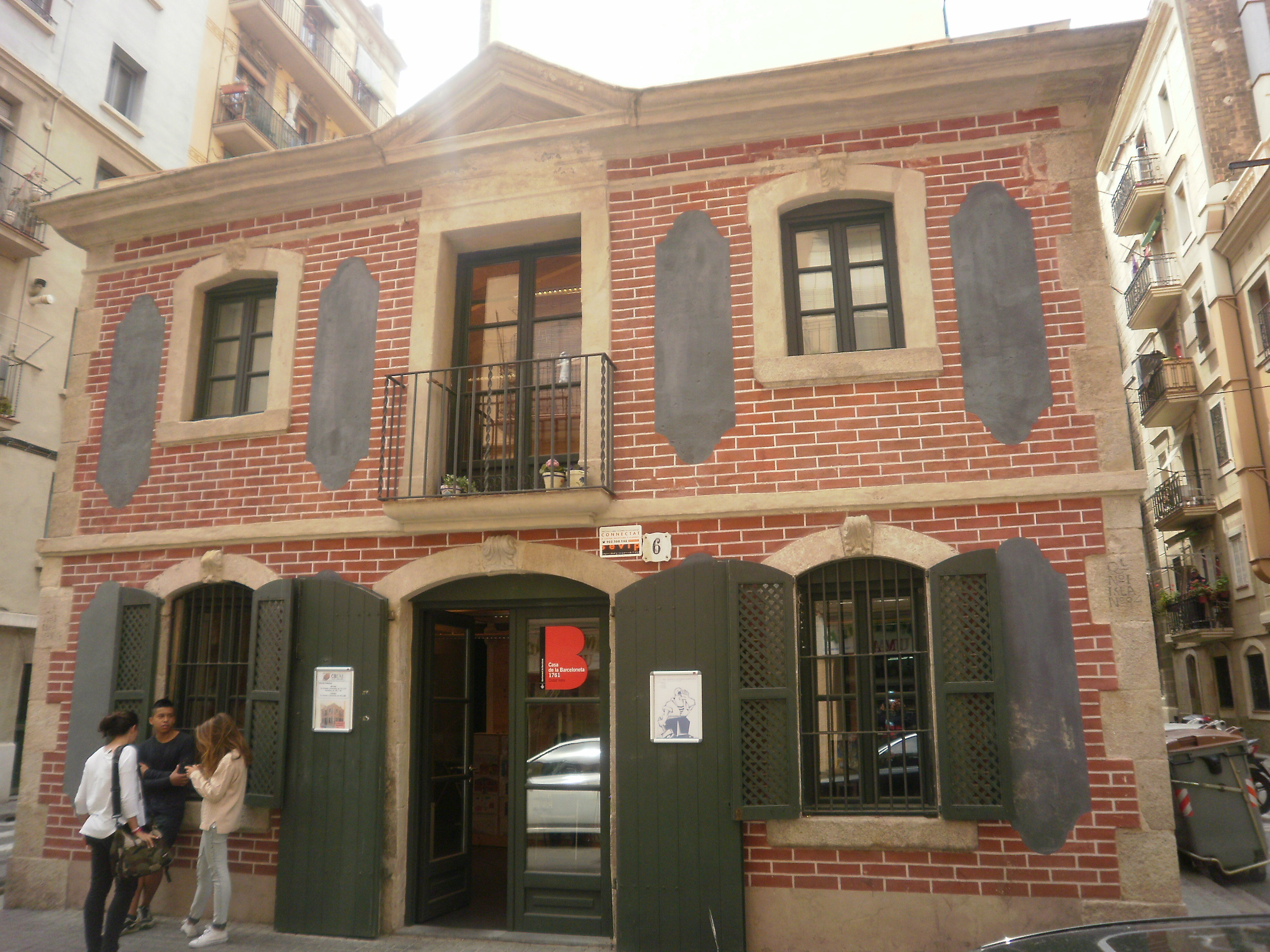 File casa de la barceloneta jpg wikimedia commons - Apartamentos en la barceloneta ...