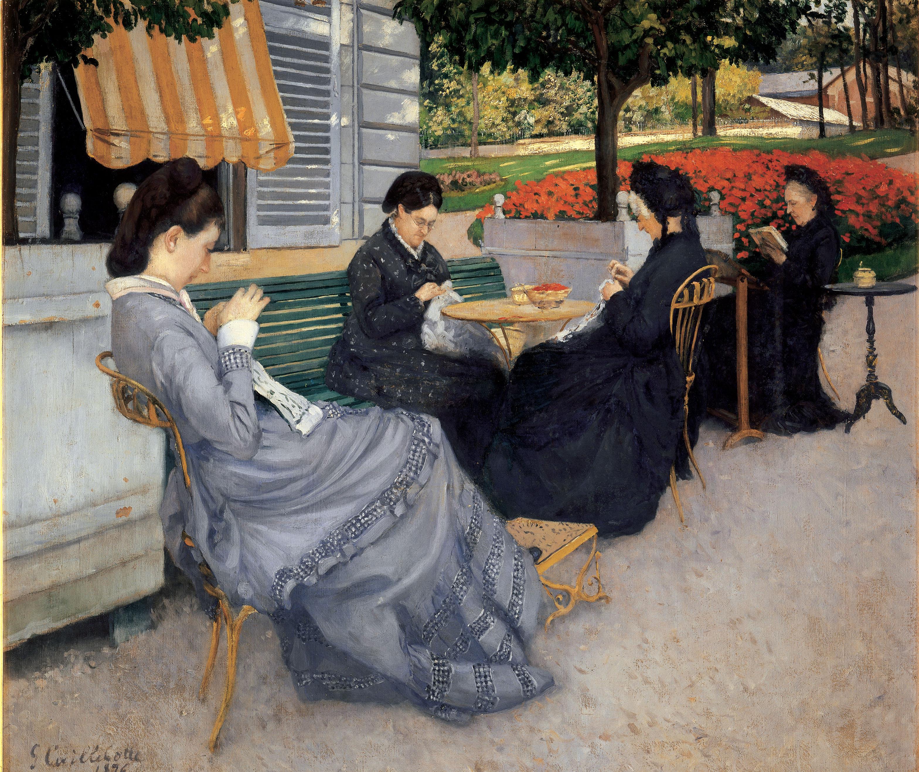 Aluksi kahvilat olivat yläluokan miesten salonkeja, mutta vähitelleen ne tulivat suosituiksi myös naisten parissa.