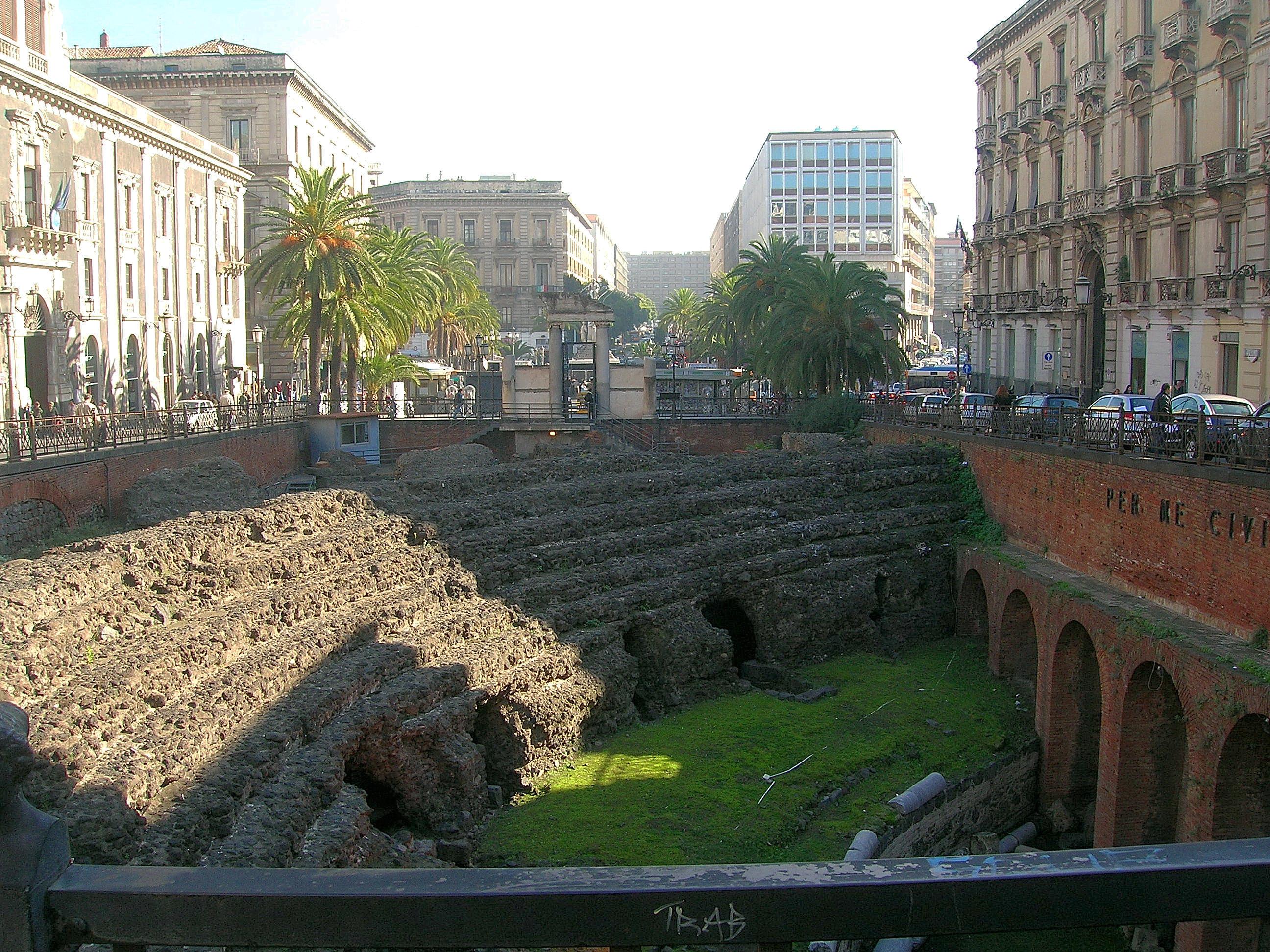 Anfiteatro romano di Catania - Wikiwand