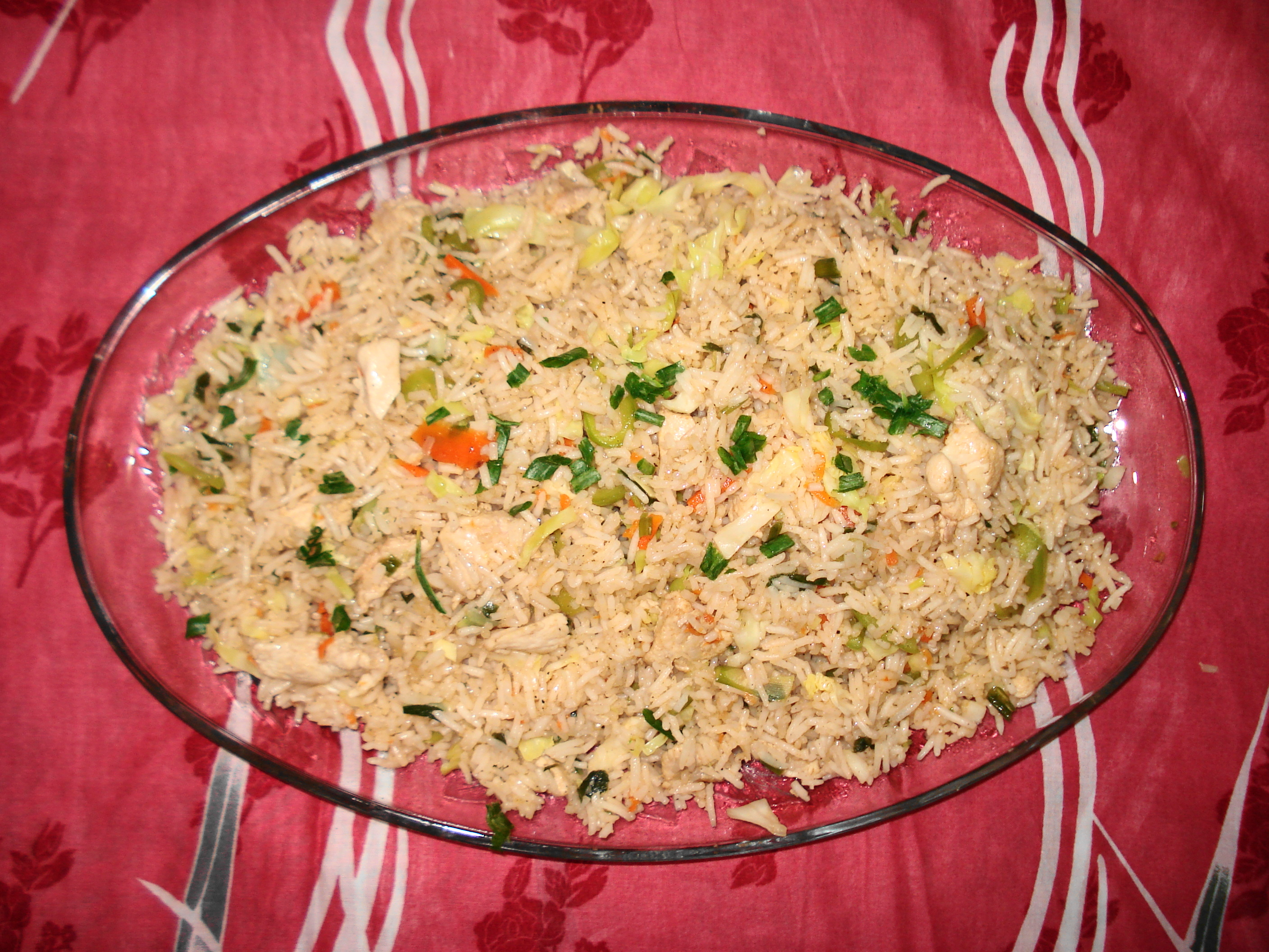 how to make chinese pork fried rice