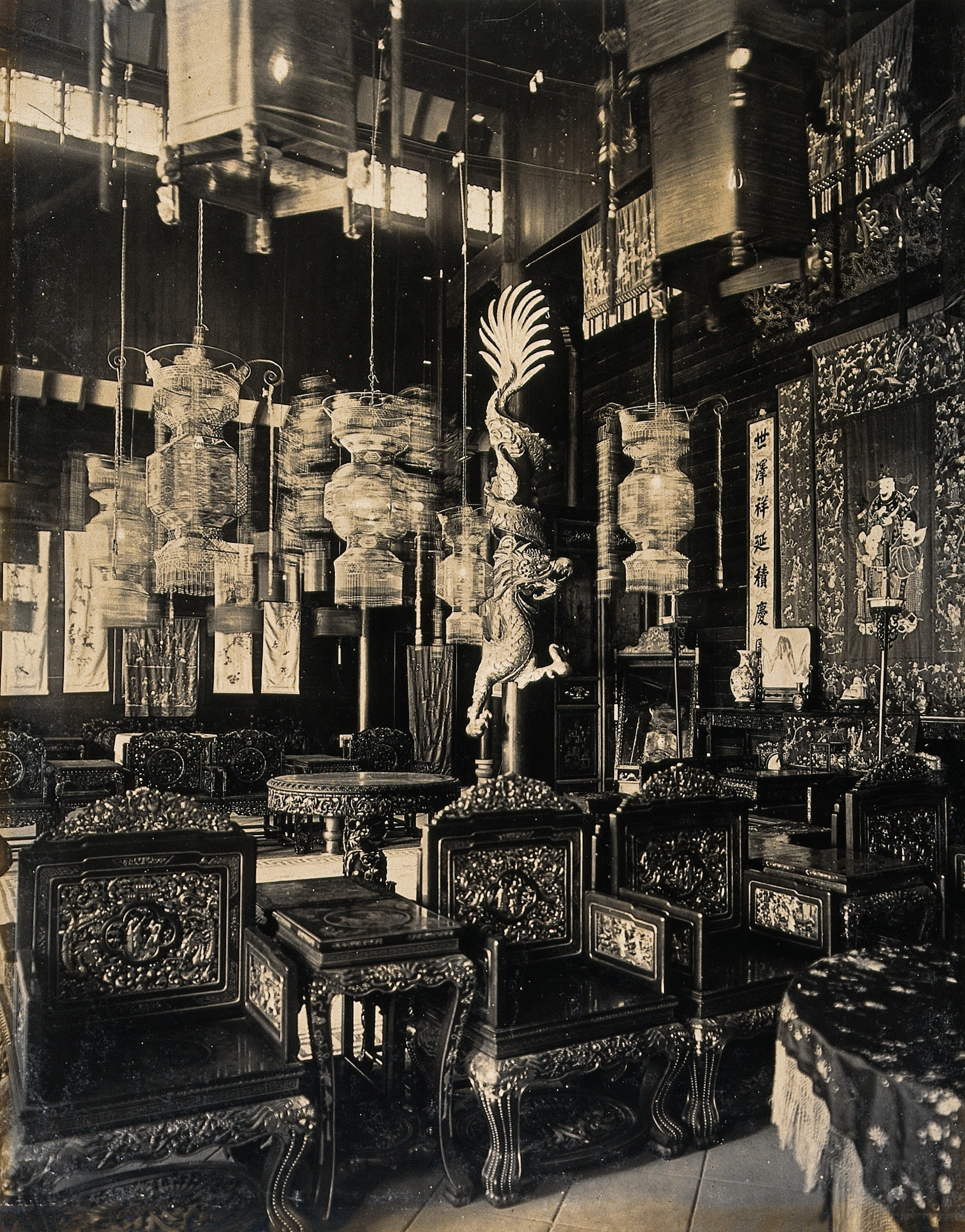FileChinese Interior Design At The 1904 Worlds Fair St Louis Wellcome V0038344