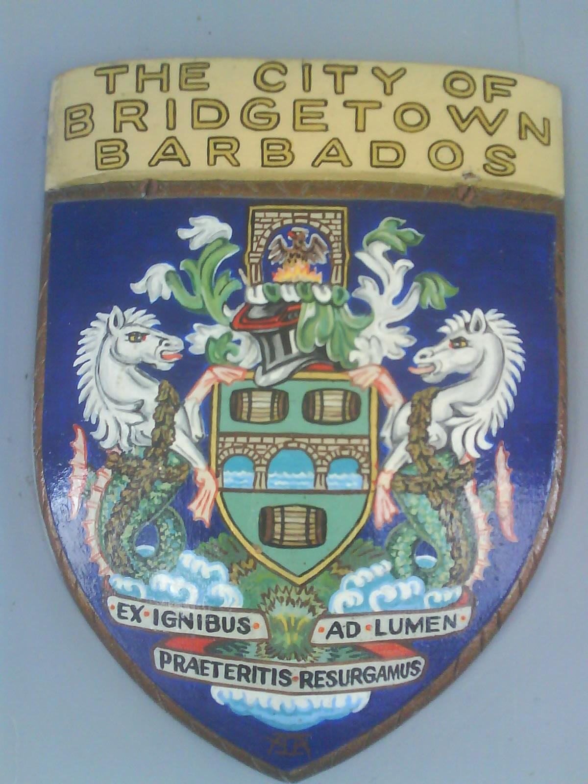 Depiction of Bridgetown