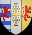 Coat-of-arms of Cypre, Jerusalem, Arménie.png