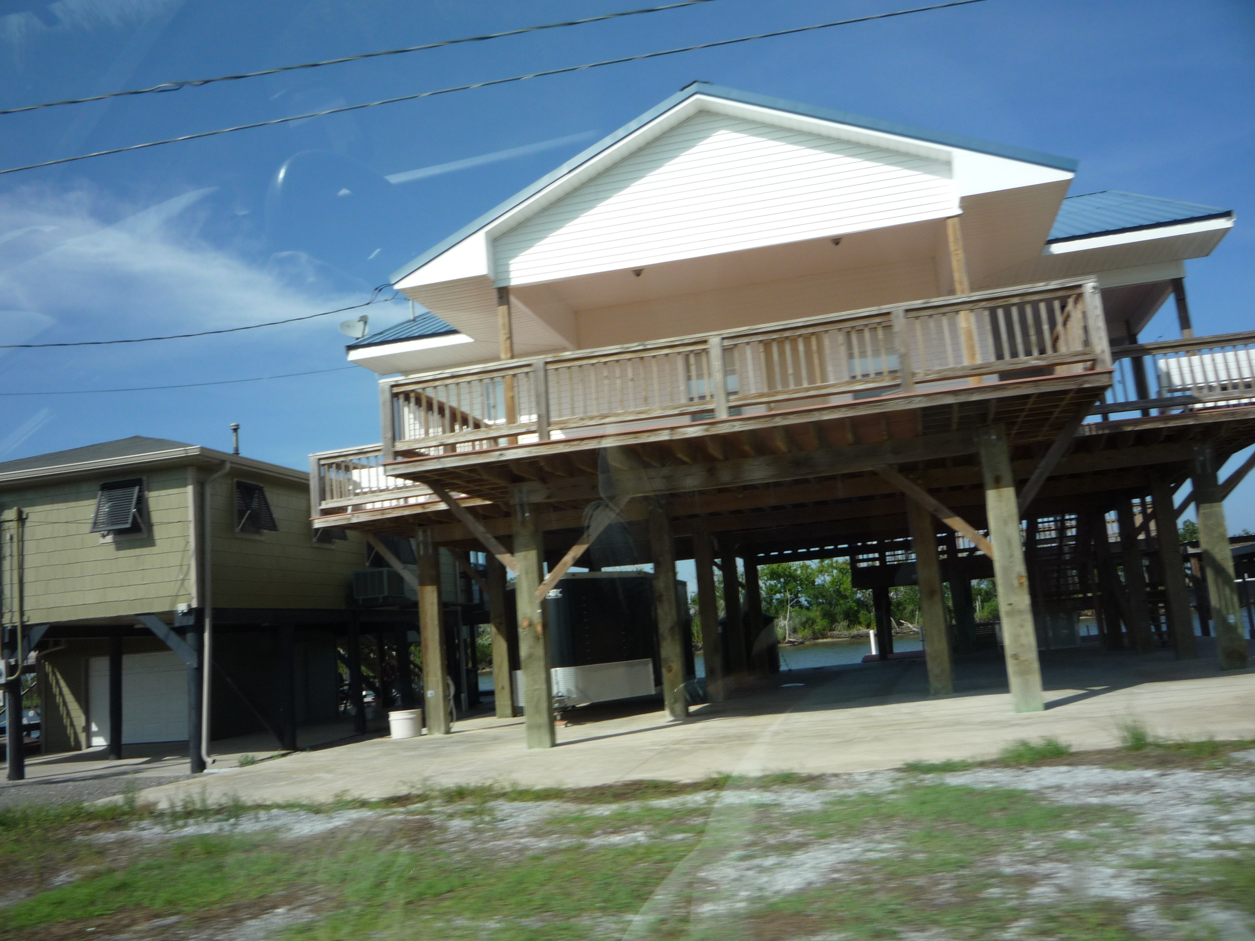Louisiana houses on stilts the image for Home plans louisiana
