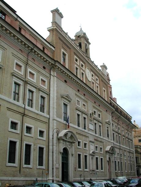 Collegio romano wikipedia for Il parlamento italiano wikipedia