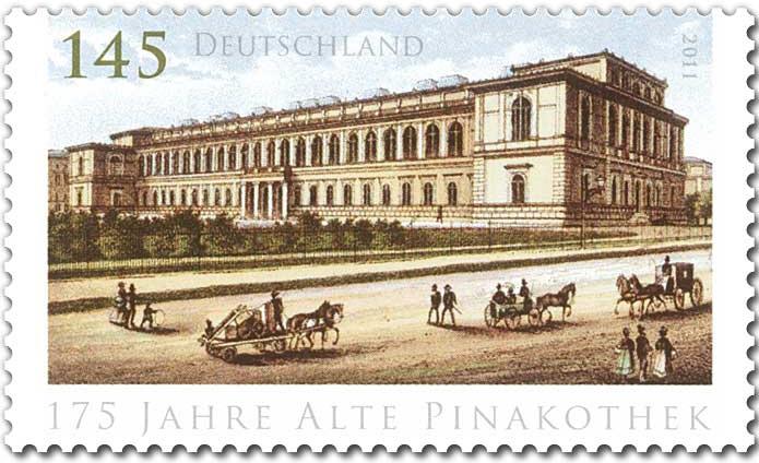 Dateideutsche Briefmarke 175 Jahre Alte Pinakothekjpg Wikipedia