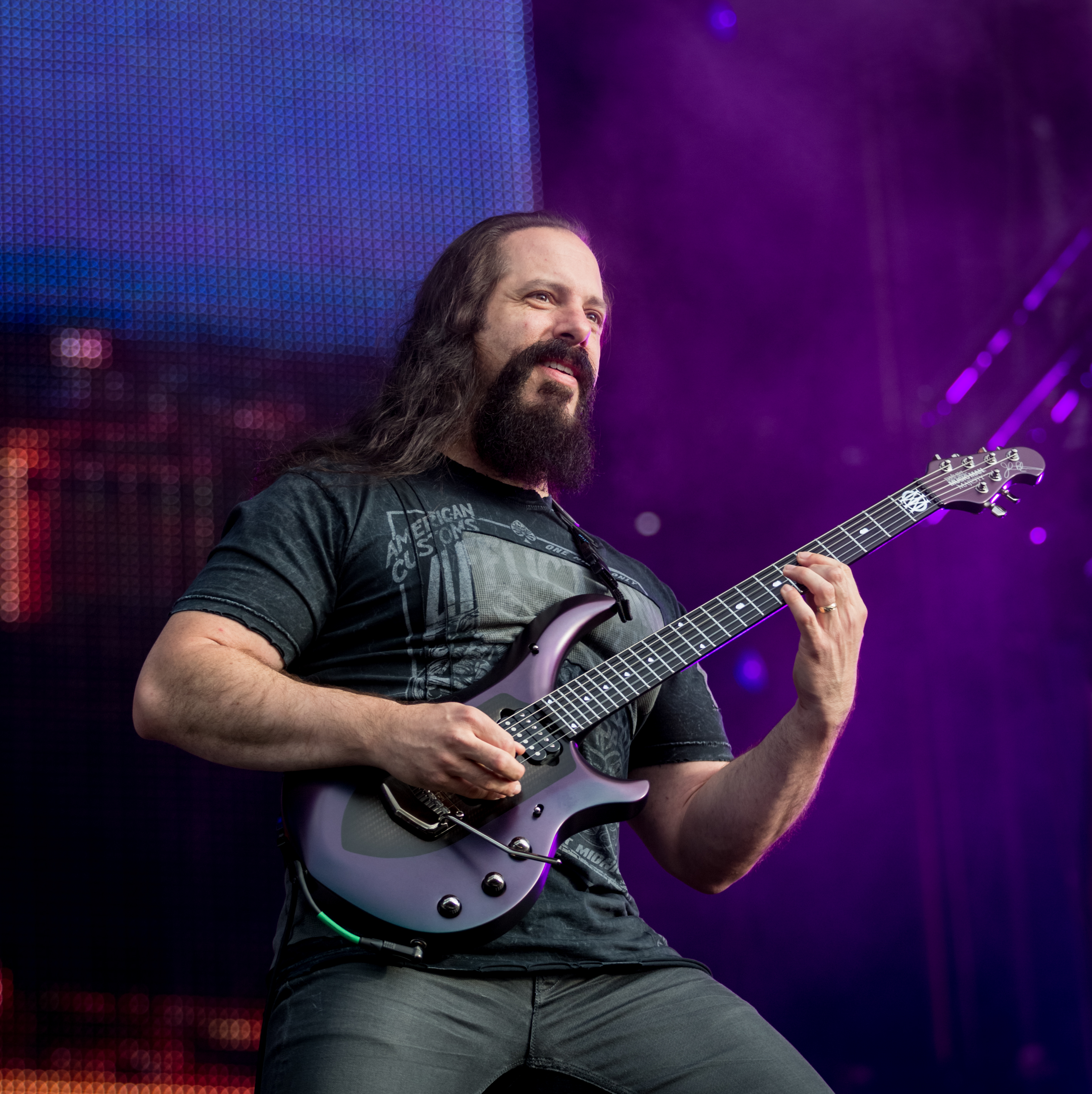 Depiction of John Petrucci