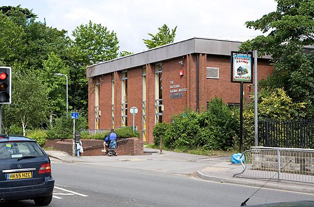 Eastleigh Railway Institute, Romsey Road - geograph.org.uk - 478154