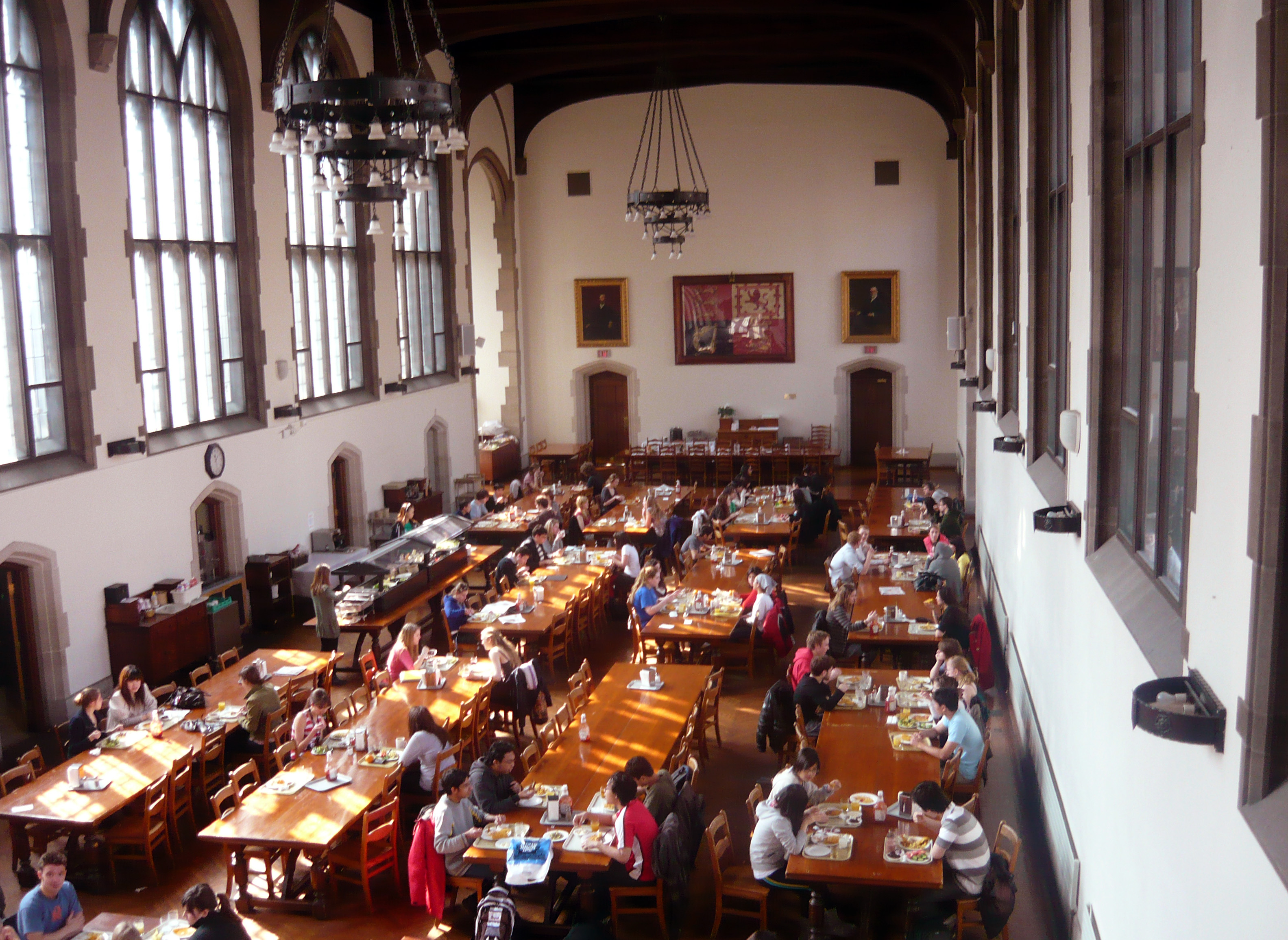 File eating hall victoria wikimedia commons for U of t dining hall