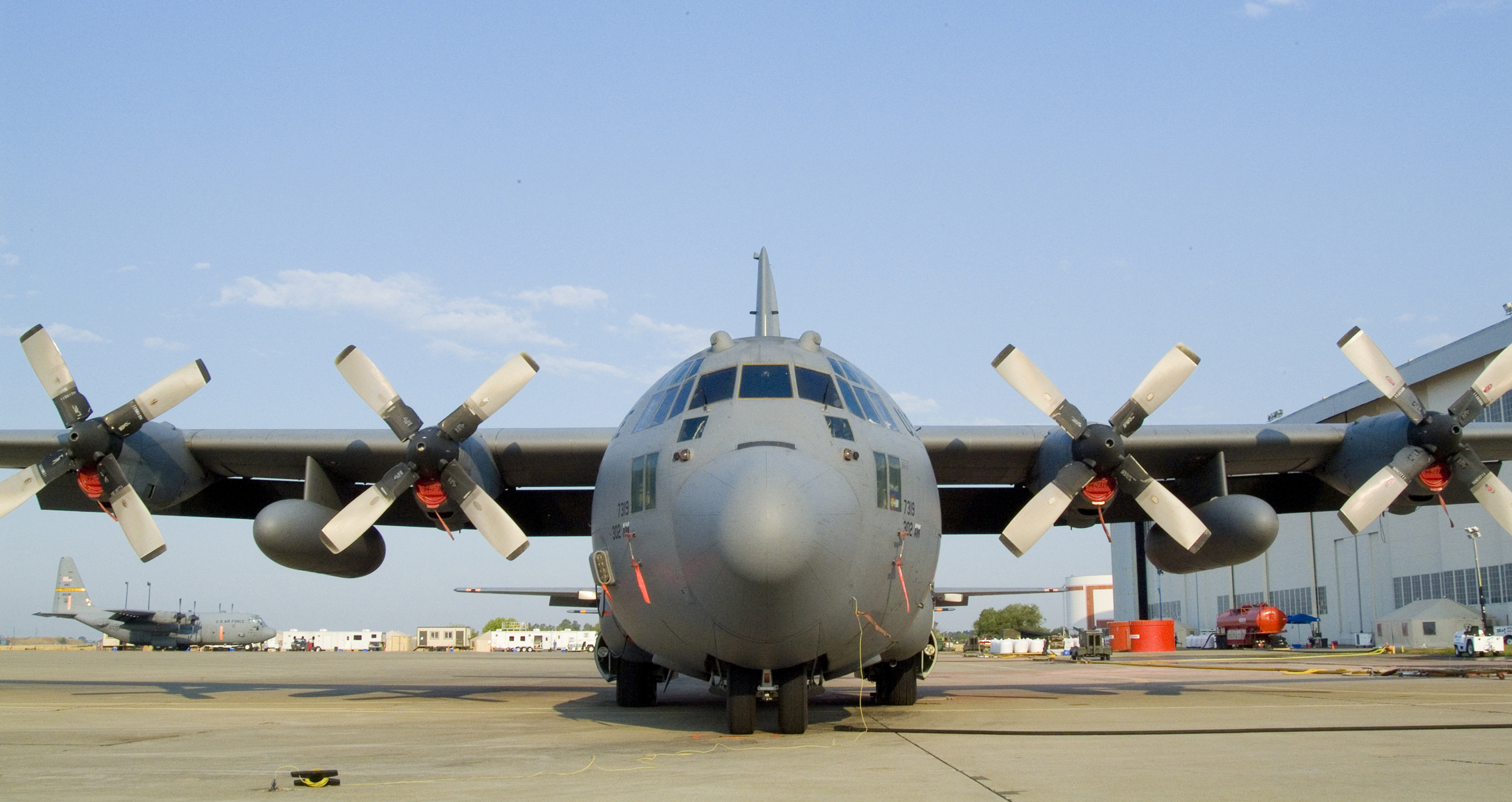 File Fema 37139 C 130 Used For Fire Fighting In