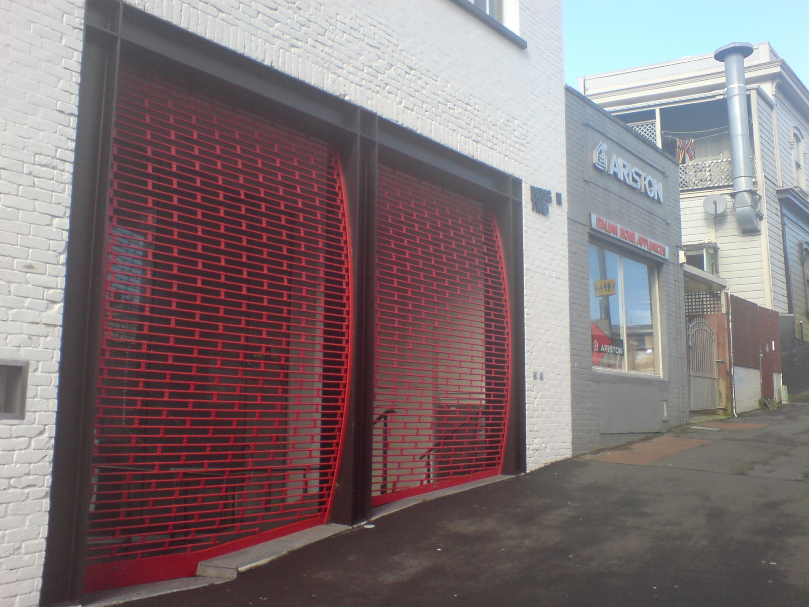 File:Fancy Garage Door Roller Grates Near K Road II.jpg : door grates - Pezcame.Com