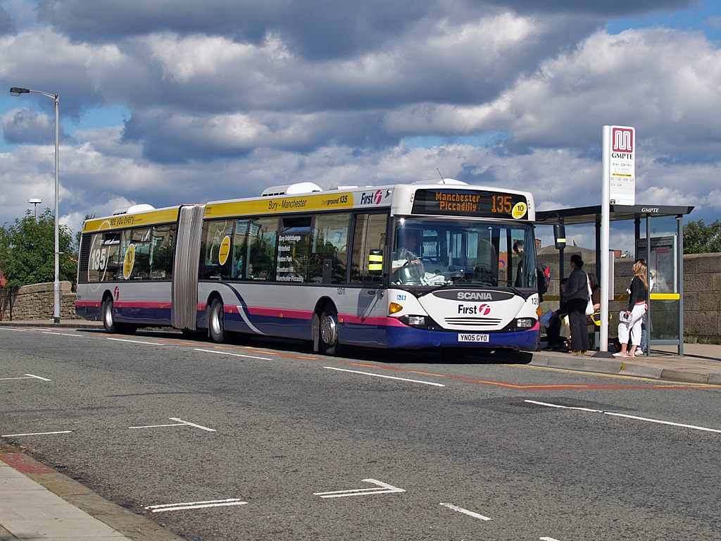 First Manchester operate bus services in northern-Greater Manchester.