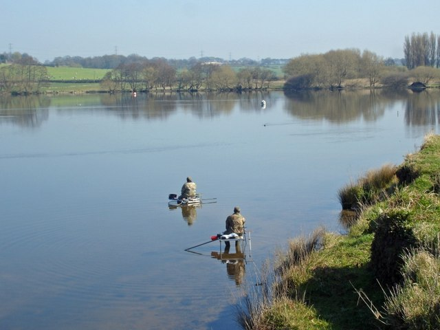 Fishermen in Budworth Mere - geograph.org.uk - 399422