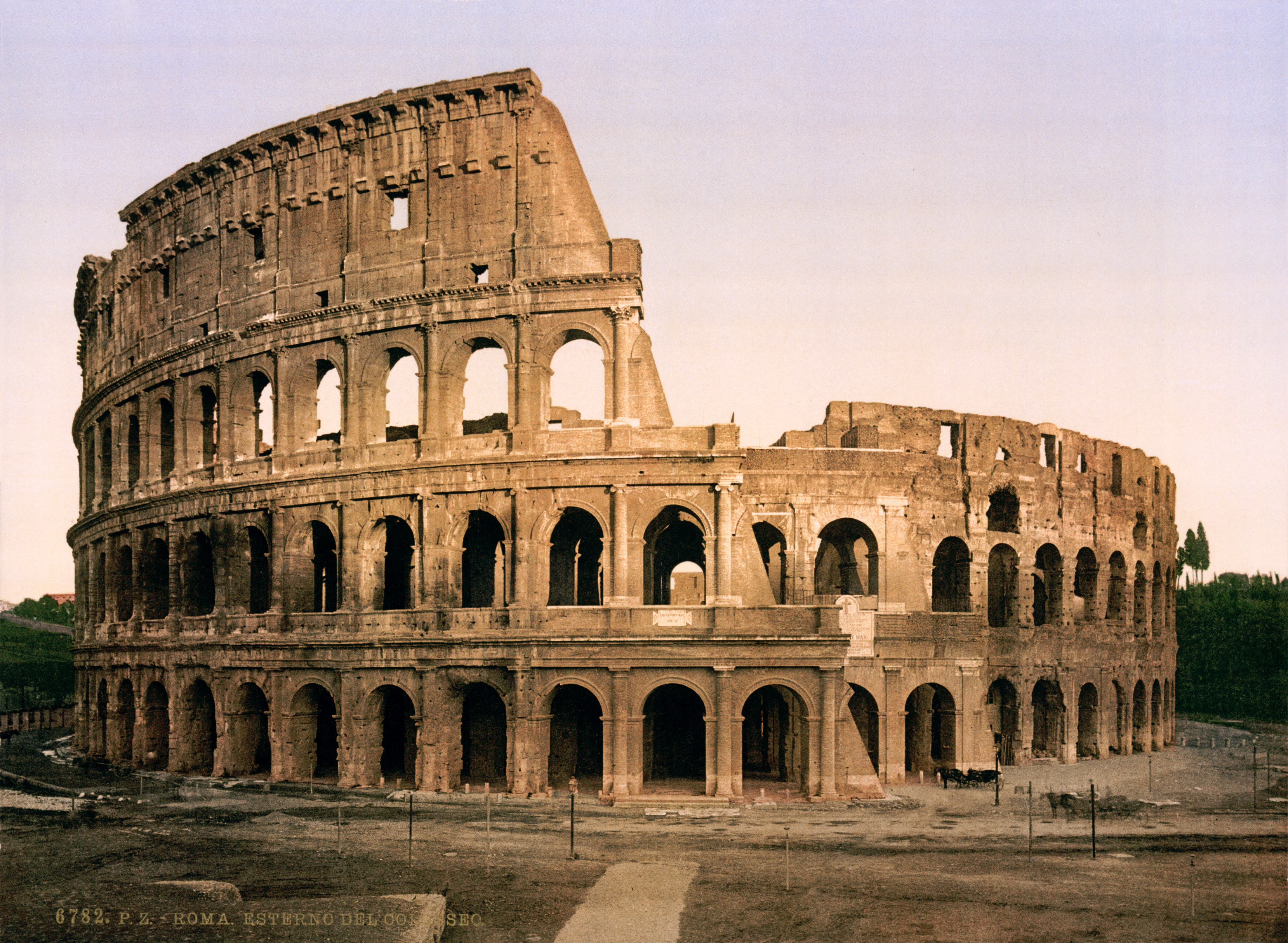 Flickr - …trialsanderrors - The Colosseum, Rome, Italy, ca. 1896.jpg