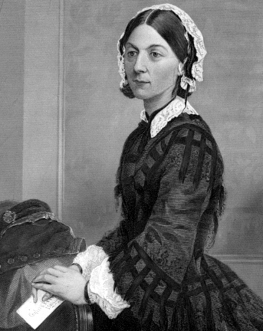 Nella foto: Florence Nightingale
