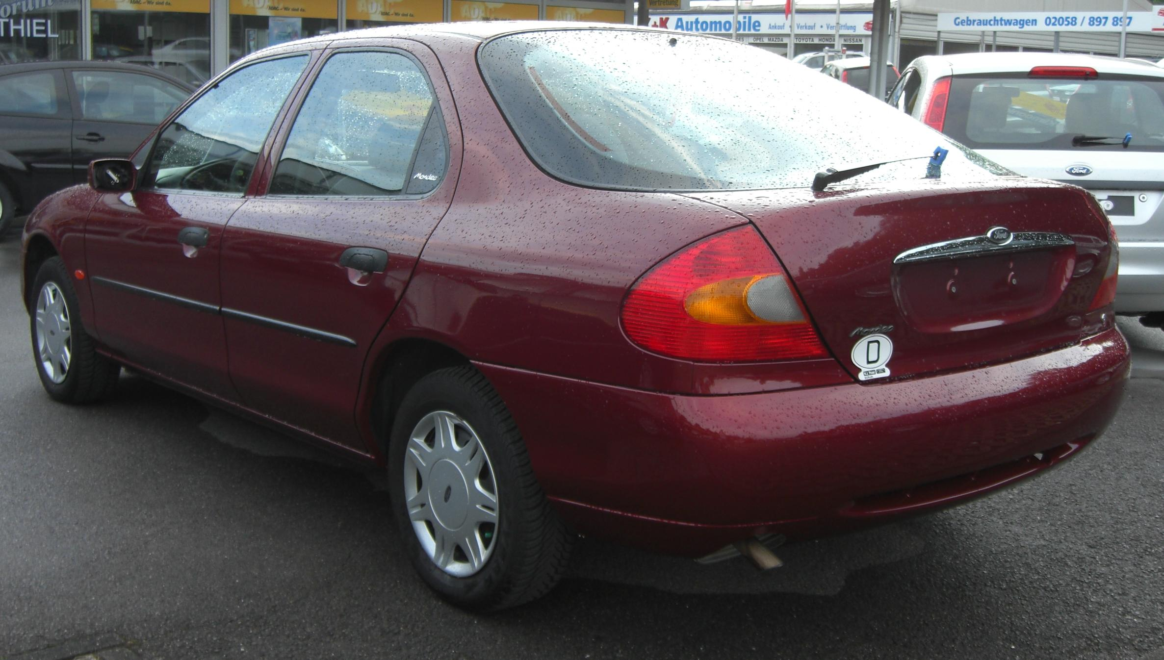 ford mondeo mk2 #10