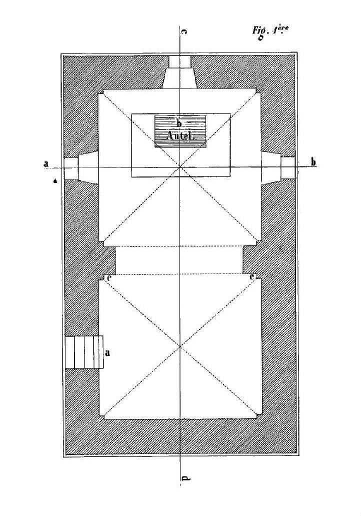 file fouquenies 60 glise saint lucien de montmille plan de la crypte par b weil. Black Bedroom Furniture Sets. Home Design Ideas