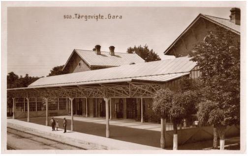 Fişier:Gara Targoviste1930.jpg