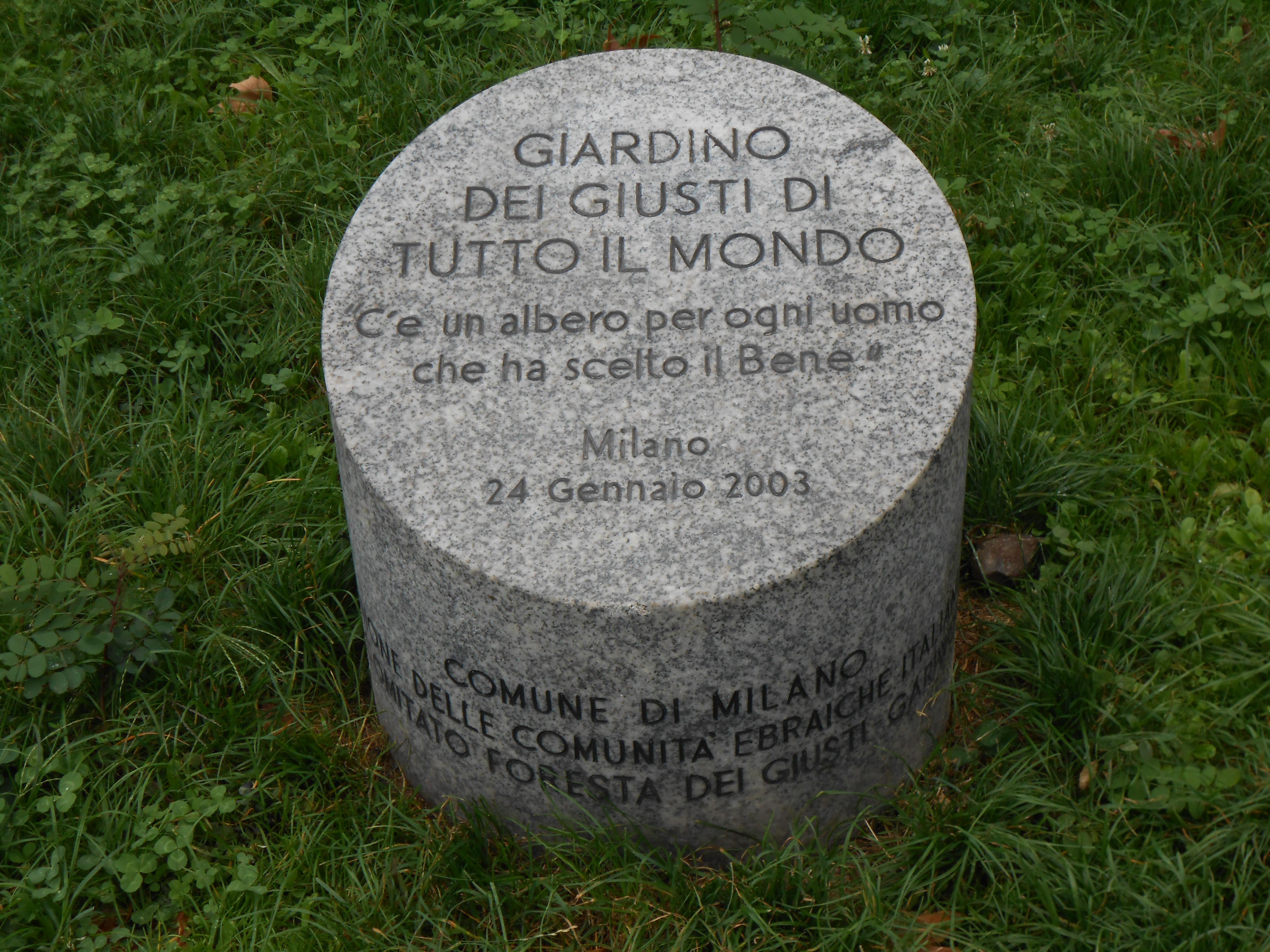 File:Giardino dei Giusti di tutto il mondo - Milano ...
