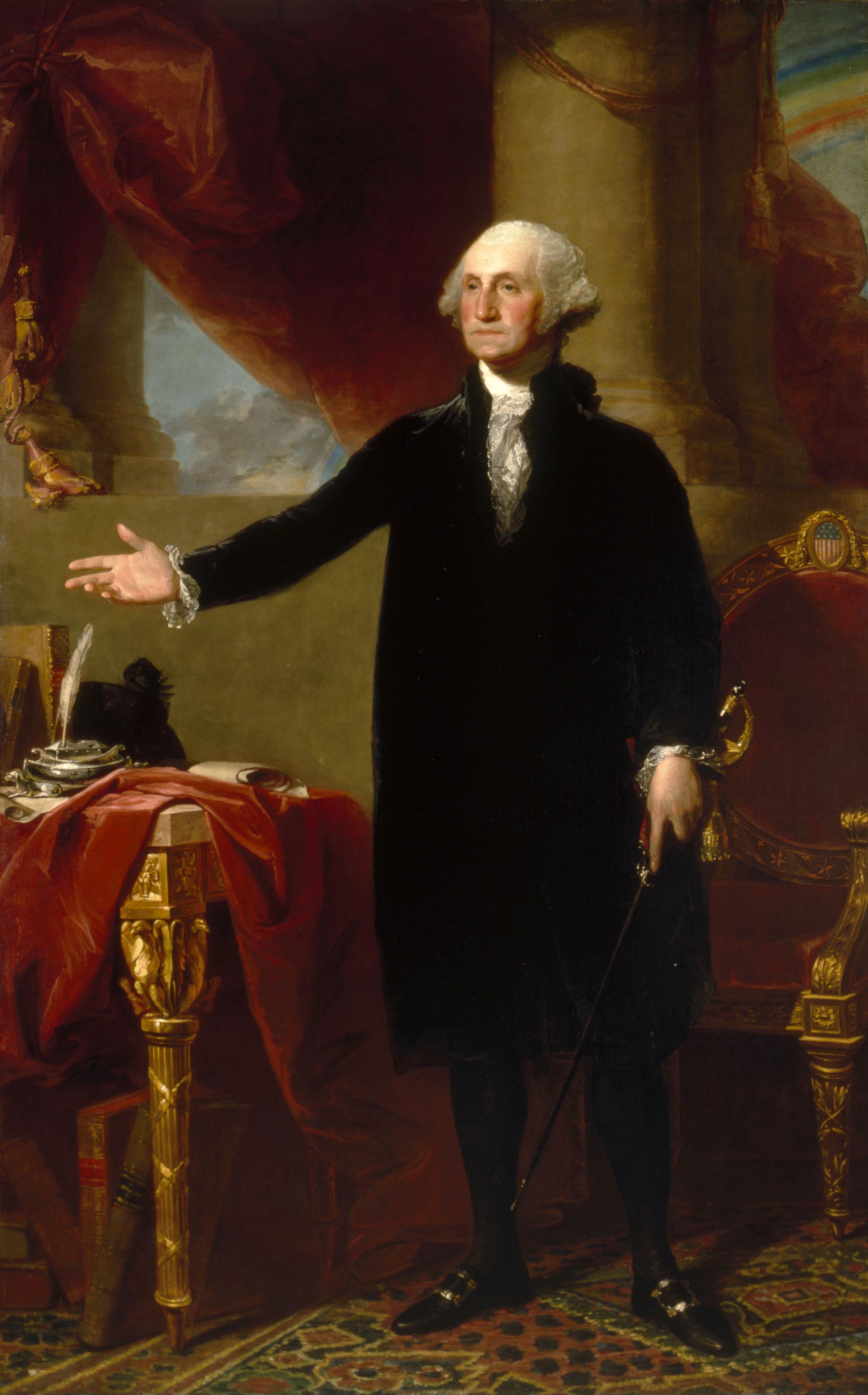 File Gilbert Stuart George Washington Lansdowne Portrait