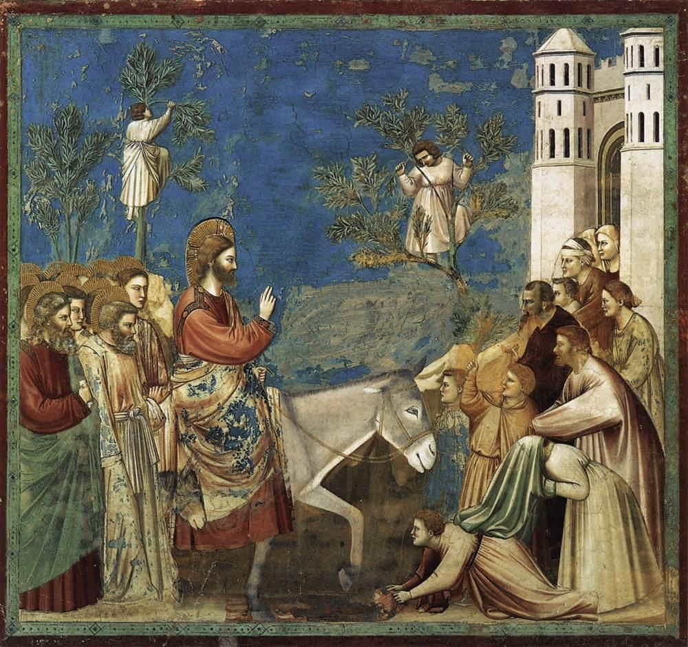 Ingresso a Gerusalemme (Giotto) - Wikipedia