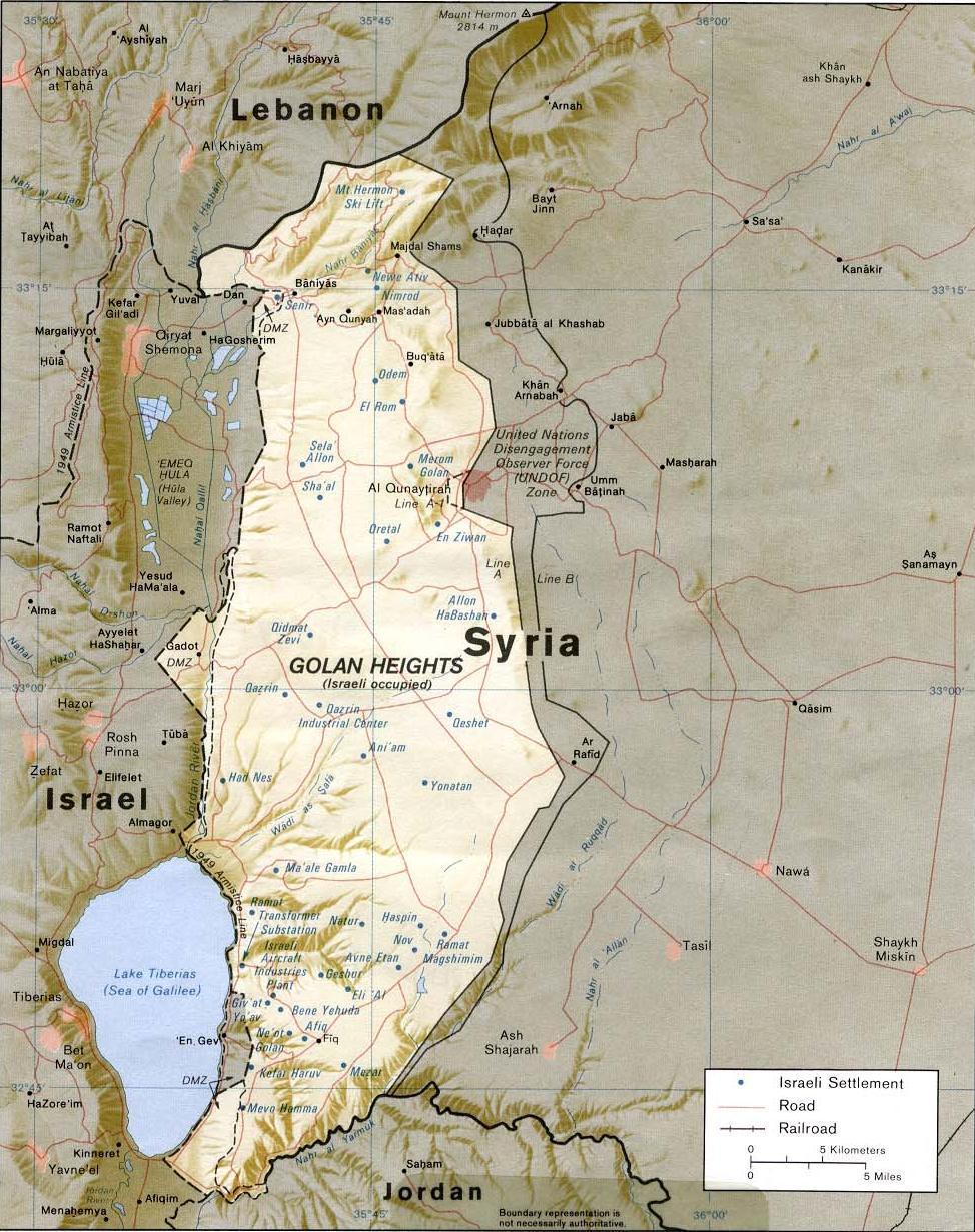 Borders Of Israel Wikipedia - Map of egypt israel jordan syria