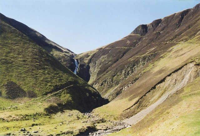 Grey Mare's Tail - geograph.org.uk - 339286