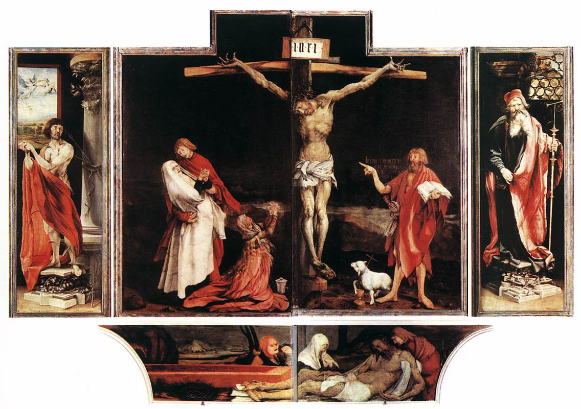 La Résurrection du Christ selon le retable d'Issenheim, c. 1515