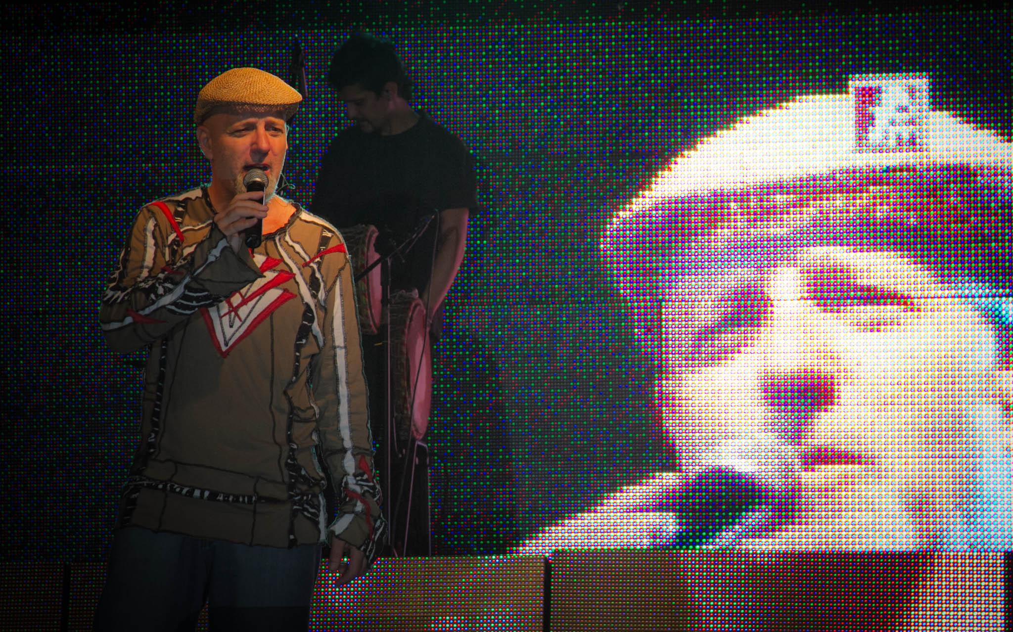 Gustavo Cordera en La Caravana Mágica, (2011).