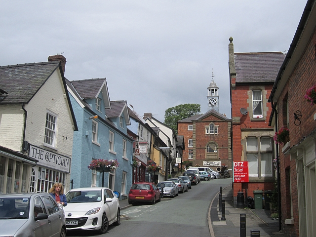High Street, Bishops Castle (geograph 3276351)