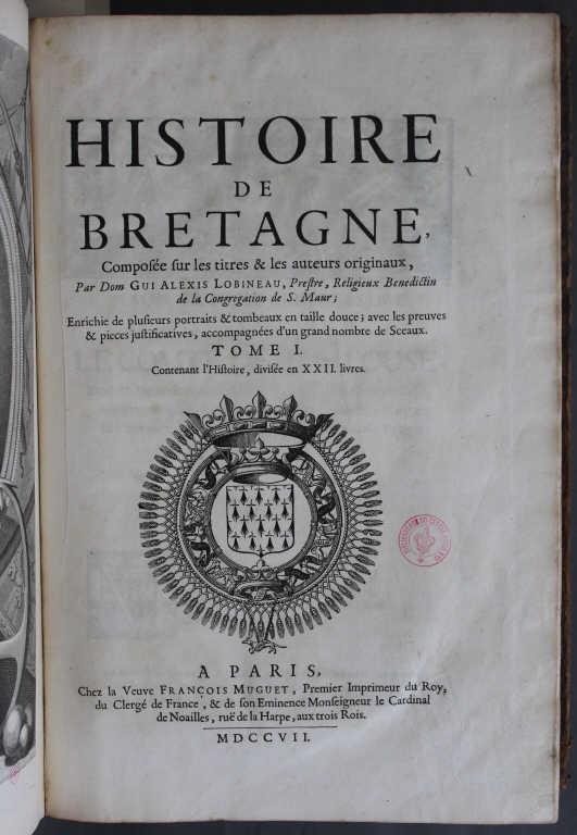 Histoire de bretagne compos e sur les titres les auteurs for Histoire des jardins wikipedia