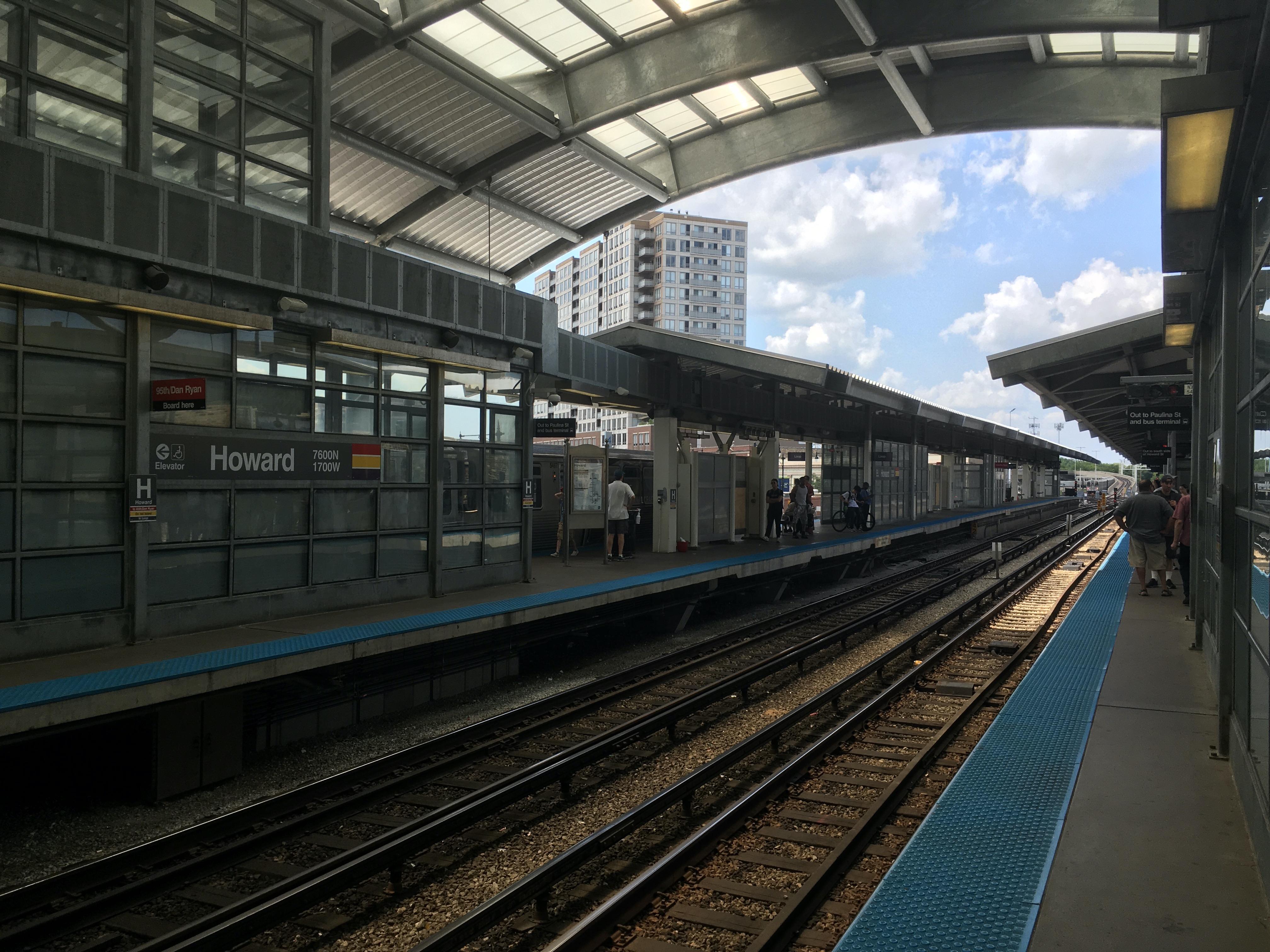 Howard station - Wikipedia