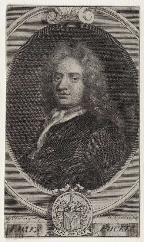 [[Line engraving]] by [[George Vertue]] after [[John Closterman]], published in 1713