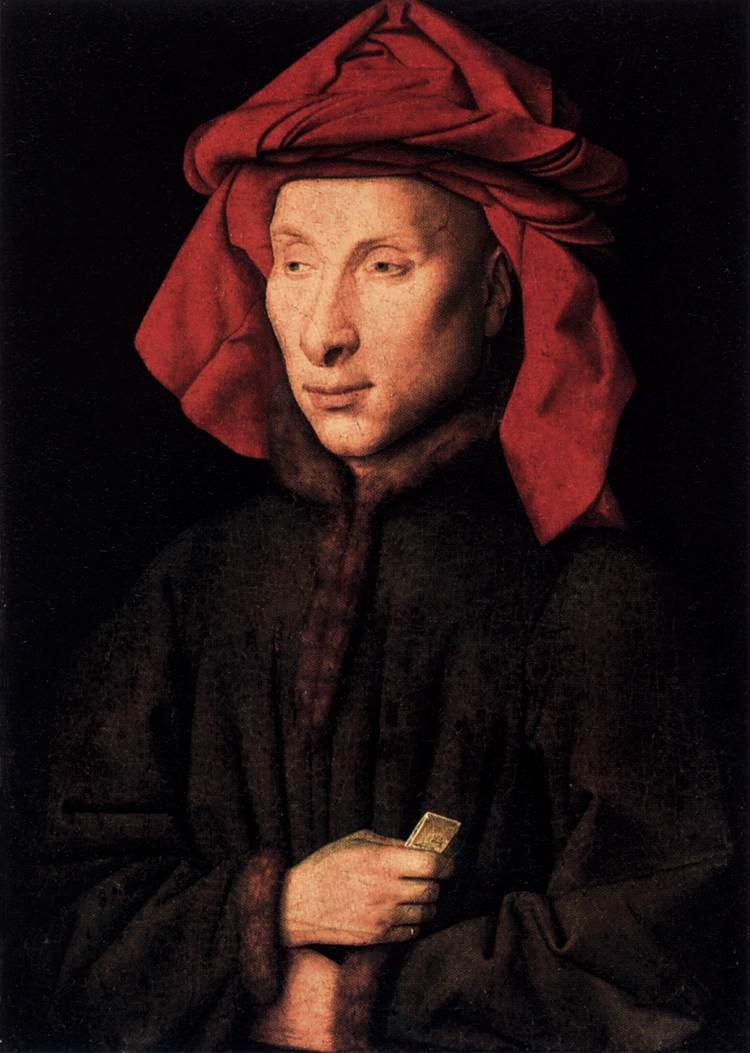 Portrait of Giovanni di Nicolao Arnolfini - Wikipedia