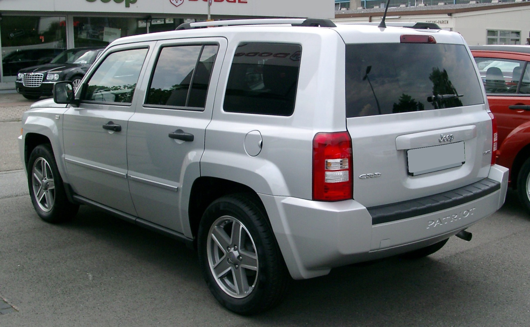 Jeep patriot rear 20080727