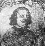 Black and white portrait of Juan de Valdés Leal