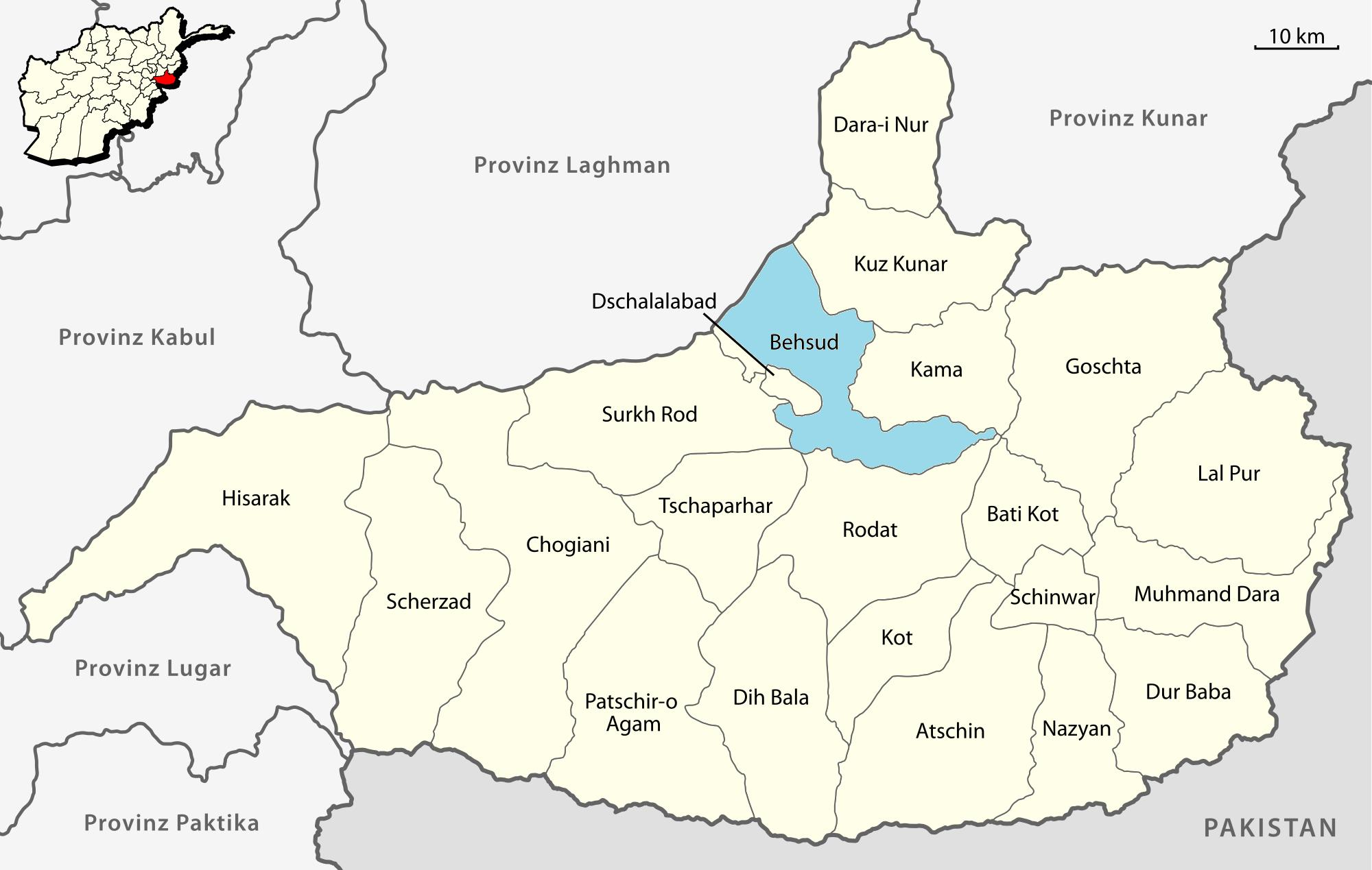 Karte Afghanistan Provinzen.Datei Karte Provinz Nangarhar Behsud De Png Wikipedia