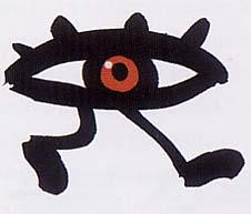 Laufendes Auge