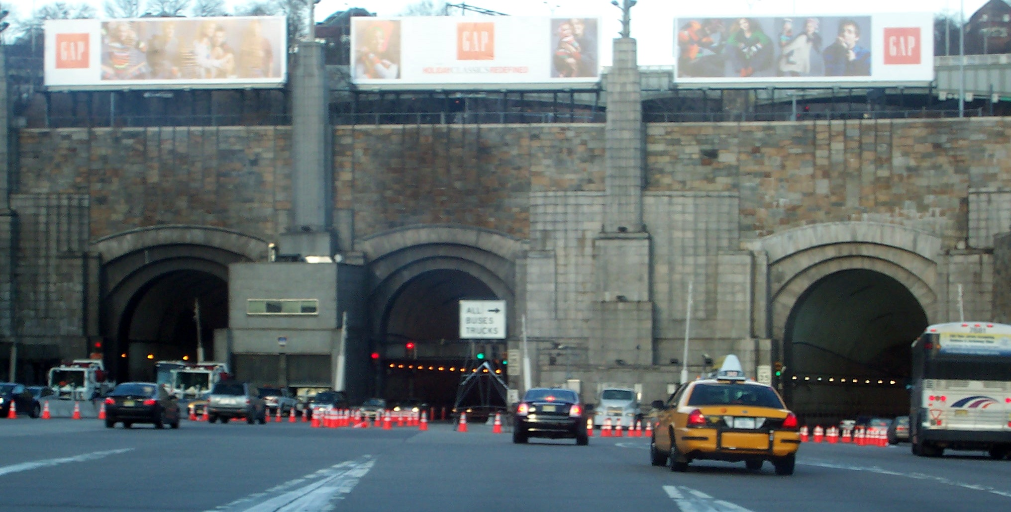 Image Gallery Holland Tunnel Entrance