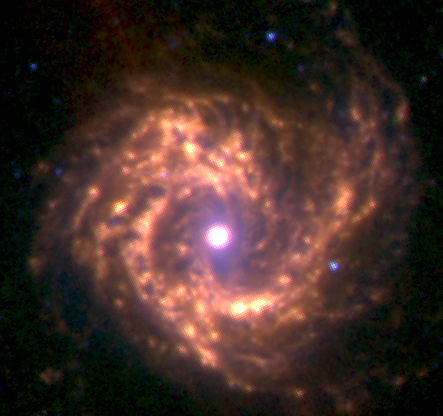 galaktyki spiralne bez poprzeczki vindemiatrix